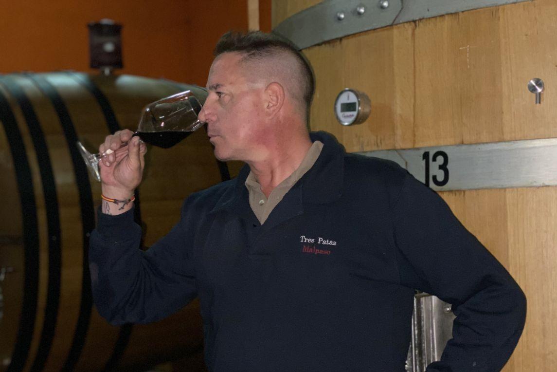 Belarmino Fernández, winemaker